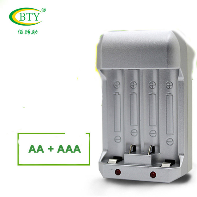 100% Original BTY N-97 EU US High Quality Smart Charger for AA AAA 14500 10440 Ni-MH Ni-CD Rechargeable Battery Chargers