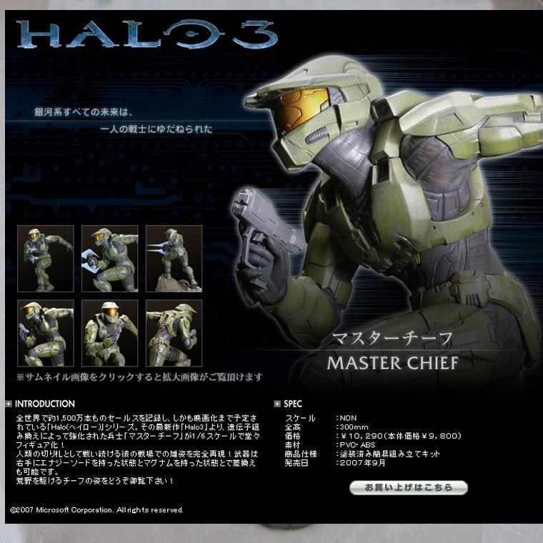все цены на  New Arrival Halo3 Master Chief Kotobukiya Spartan Figure Statue 12in Army Green Color  онлайн