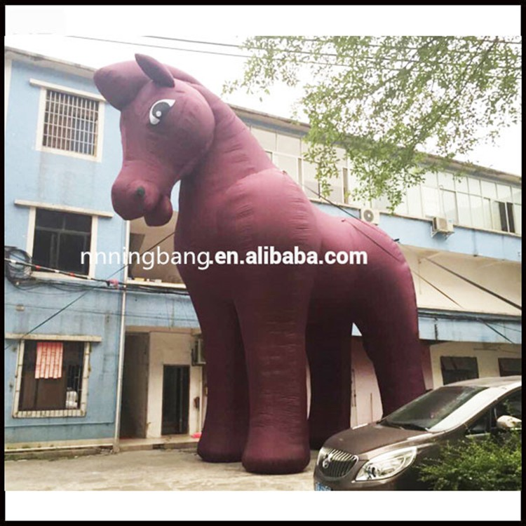 inflatable horse