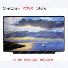14.0 laptop LCD screen for Lenovo thinkpad t480 t480i resolution 1920×1080 стоимость