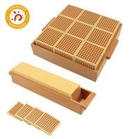 Деревянные Монтессори бука кубики квадраты с коробкой наборы математические игры игрушки обучающие материалы
