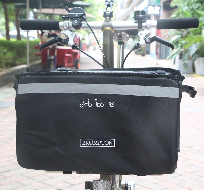 Folding bike bag folding basket for Brompton PanniersFolding bike bag folding basket for Brompton Panniers