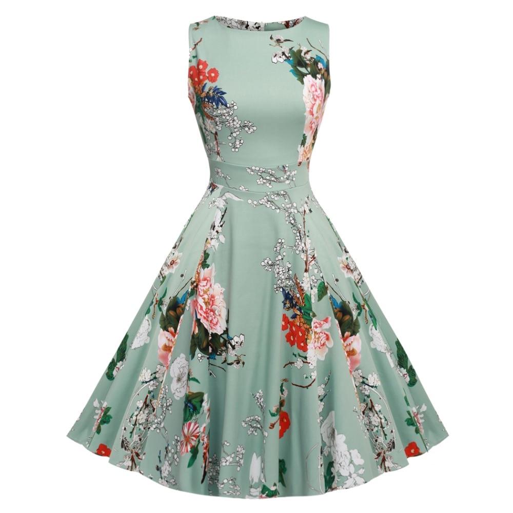 ACEVOG Brand S – 3XL Women Dress Retro Vintage 1950s 60s Rockabilly ...