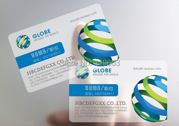 Wholesale price 10000 pcs 2014 new design transparent for 10000 business cards