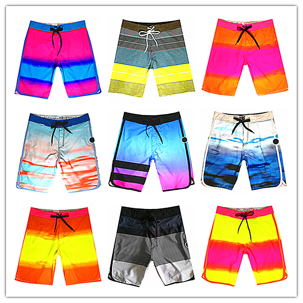 Hot Sale 2019 Brand Phantom Men Beach Board Short Swimwear 100% Quick Dry Elastic Maillot Bain Bermuda Male Beachwear