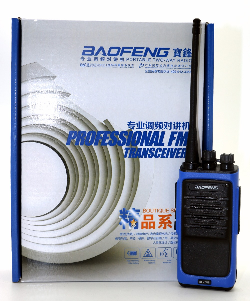 Baofeng BF-T88 מכשיר הקשר BFT88 16CH 5W UHF 400-480MHz Cb - ווקי טוקי