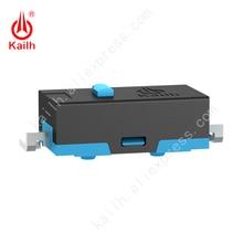 Kailh مفتاح ميكرو مصغر مع 5,000,000 دورة الحياة الميكانيكية ، 60 + 20 قوة التشغيل gf