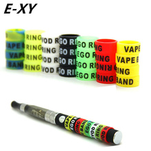 E-XY Ecig silicone bands 13mm vape ring for ego series batteries decorative and protection resistance vape bands for ego evod