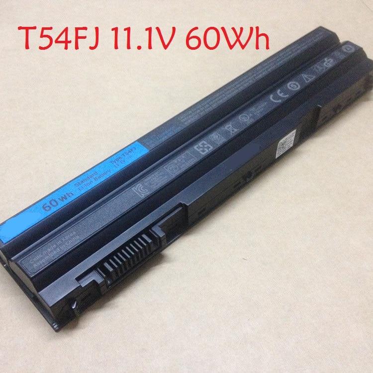 Laptop Battery for DELL E5420 E5430 E5520 E6120 E6220 E6320 E6420 E6520 11.1V 8858X 48Wh T54FJ 60Wh 0NH6K9 NHXVW 87Wh M5Y0X 97Wh 11 1v 97wh korea cell new m5y0x laptop battery for dell latitude e6420 e6520 e5420 e5520 e6430 71r31 nhxvw t54fj