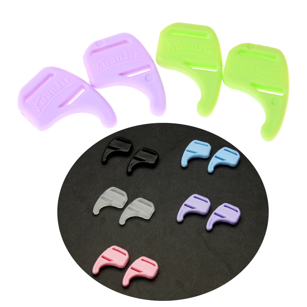 5Pairs Kids Silicone Reading Eye Glasses Sunglasses Tip Ear Hooks Grip Holder Eyeglasses Retainer Eyewear Ear Lock Anti Slip