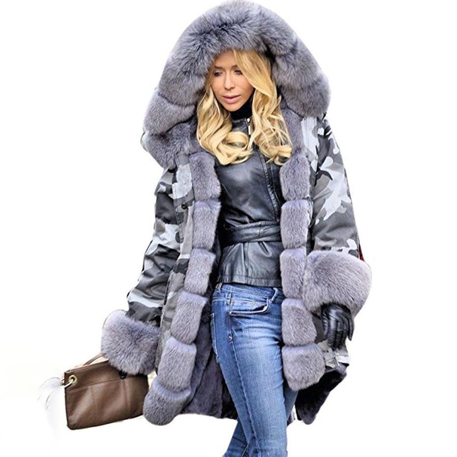 2018 Hot New warm Autumn Winter   parka   women Fashion Women coat thick hoody winter coat slim women   parka   warm womens Down jacket
