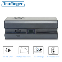 Touyinger K1 Mini pocket projector 250ANSI Lumens Android wifi portable Handheld smartphone Bluetooth HDMI Home cinema Beamer