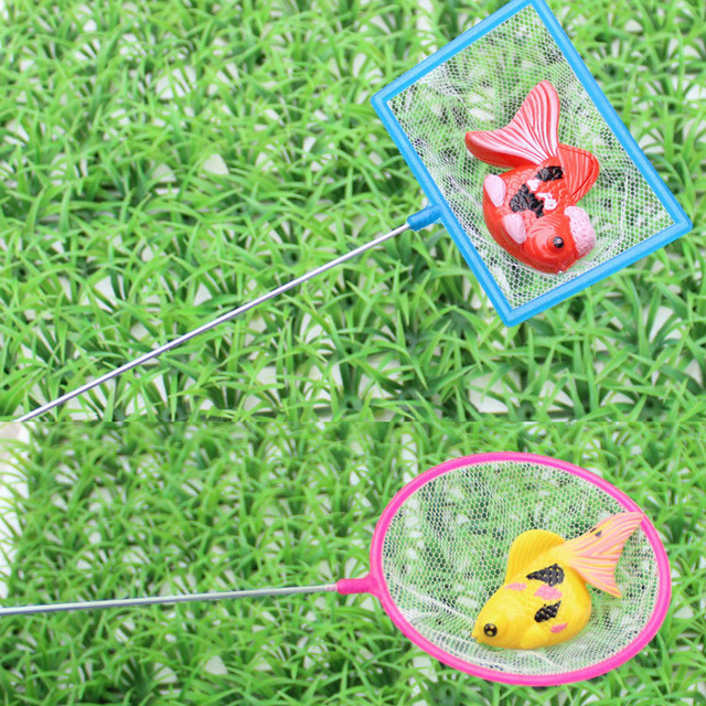 HOGNSIGN Plastic Non-electric 2-4 Years Child Toy Magnetic Fishing Extra Large Net Bag Portable and Easy to Take Baby Funny Toys