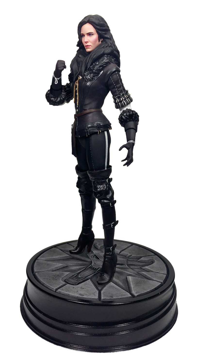 The Witcher 3 Wild Hunt Geralt of Rivia Yennefer 19 CM PVC Action Figure Figuras Brinquedos Model