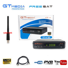 Mini Size Dual USB GtMedia V7S Tuner Decoder 1080P HD DVB S2 Digital Satellite Receiver Cline
