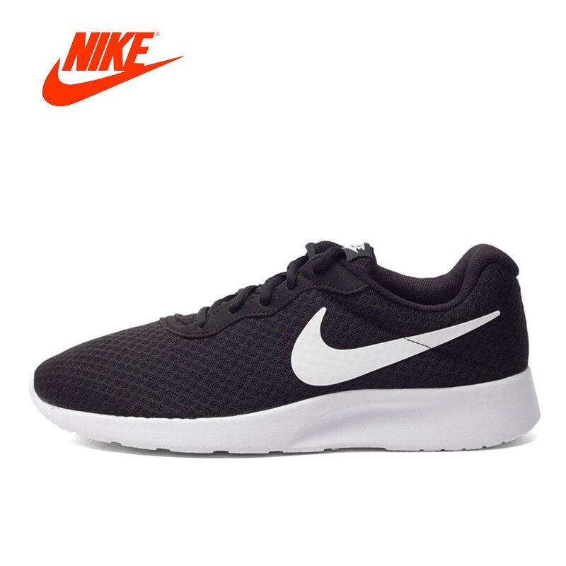 NIKE Original Tanjun Men's Running Shoes Sneakers Breatheable Sports Low Top Mesh Top Quality 812654 недорго, оригинальная цена