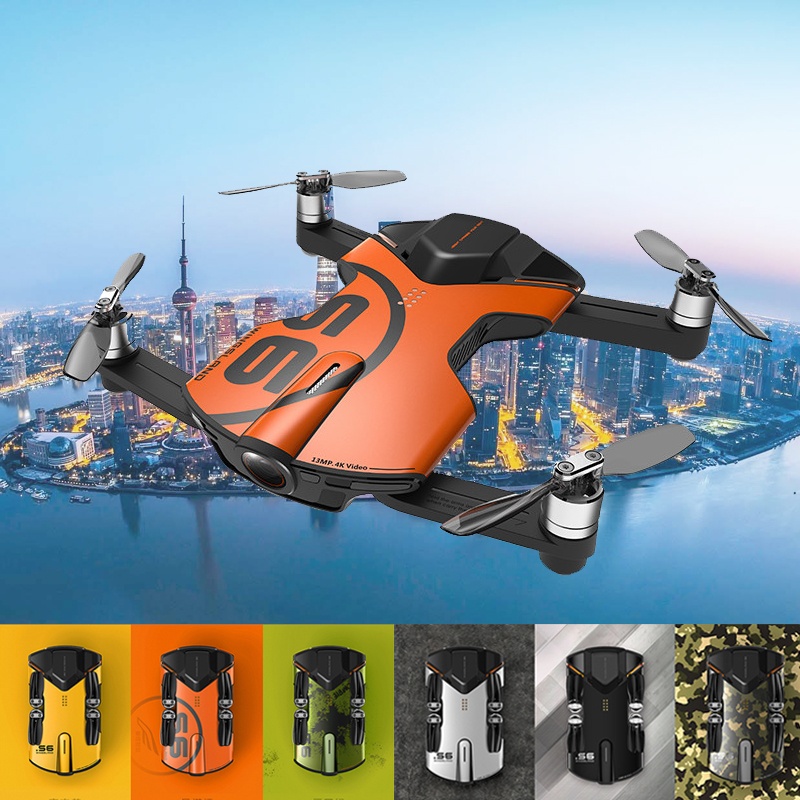 Wingsland S6 drone with camera Quadcopter With 4K HD Camera Drone WiFi RC helicopter Pocket 13 million pixels free shipping