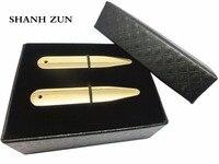 SHANH ZUN Estancias Del Collar Collar de Oro de Lujo de Acero Inoxidable Puntos Regalo de Huesos con Pequeños Agujeros de Camisas Formales para Los Hombres