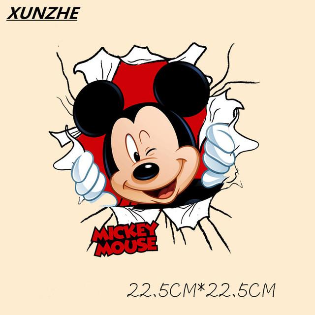 Mickey & Minnie Iron on Patch