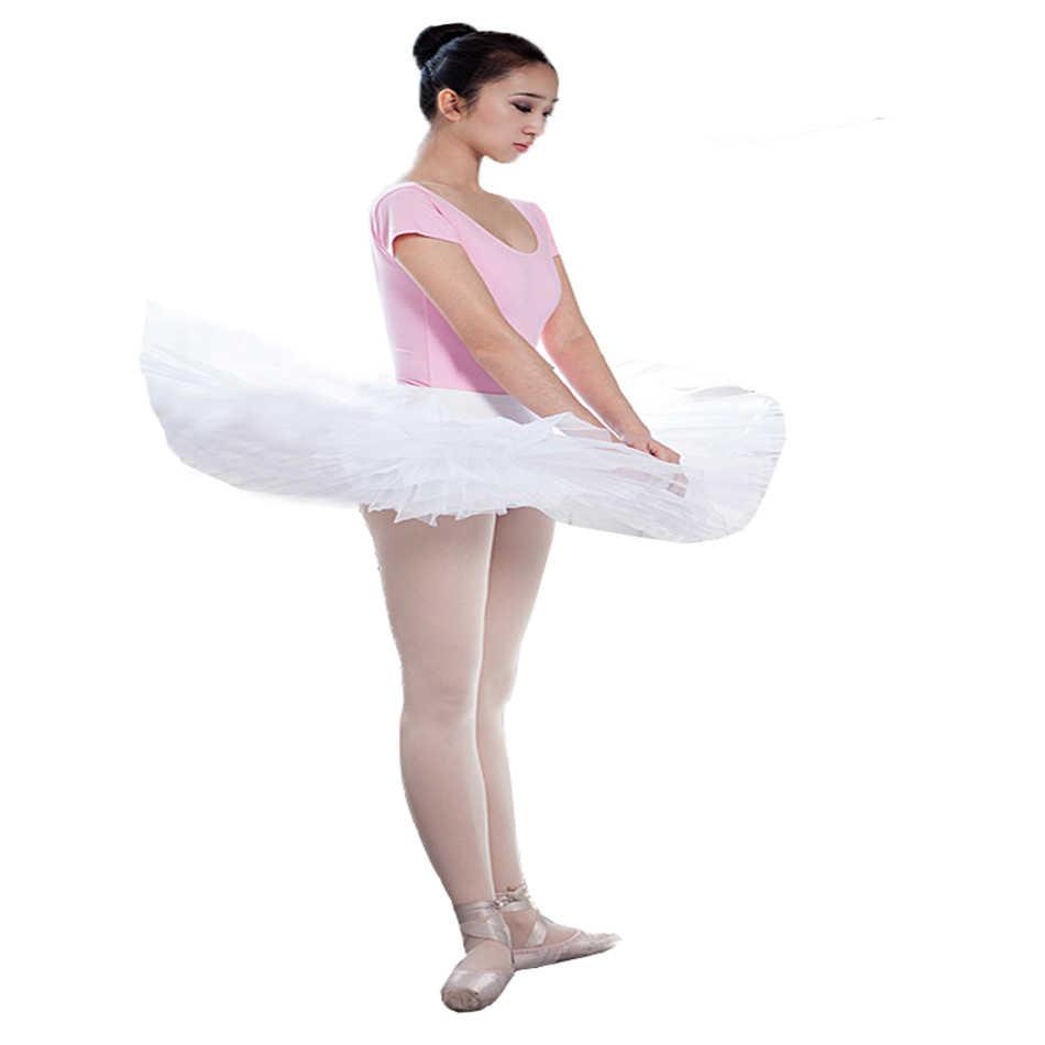 Yetişkin dans kısa tasarım sert tül elbise bale etek dans tül elbise yarım uzunlukta etekler tutu etek tül elbise