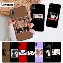 Lavaza Beautiful eyes of cartoon Silicone Case for iPhone 5 5S 6 6S Plus 7 8 11 Pro X XS Max XR цена