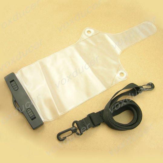 Waterproof bag for two way radio walkie talkie interphone