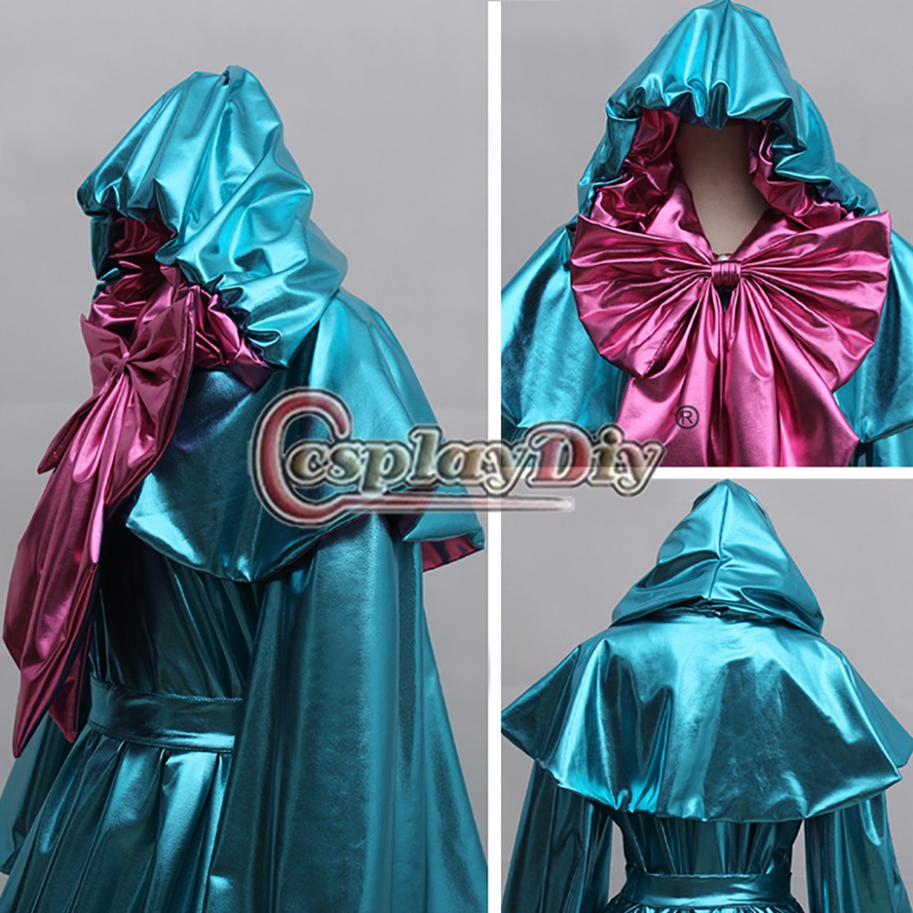Image 5 - Cosplaydiy Custom Made Cinderella Fairy Godmother Cosplay Costume Dress Adult Princess Cinderella Dress L320-in Anime Costumes from Novelty & Special Use