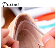 Putimi Foot Care for the Heels Insoles Cushion Transparent Silicone Pads Feet Prevent Scratching Blisters Heel Stick