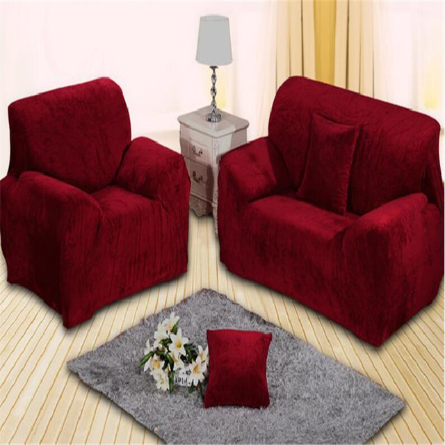 red suede couch covers