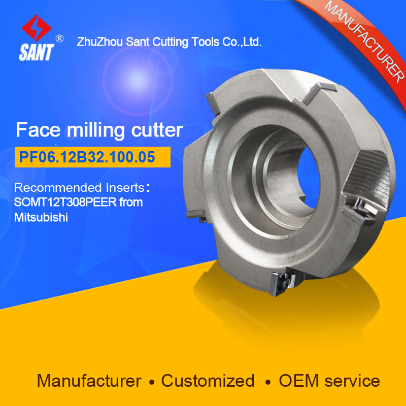 Mached insert SOMT12T308PEER Indexable milling cutter milling tools facing cutter cutting PF06.12B32.100.05 бра citilux cl921020