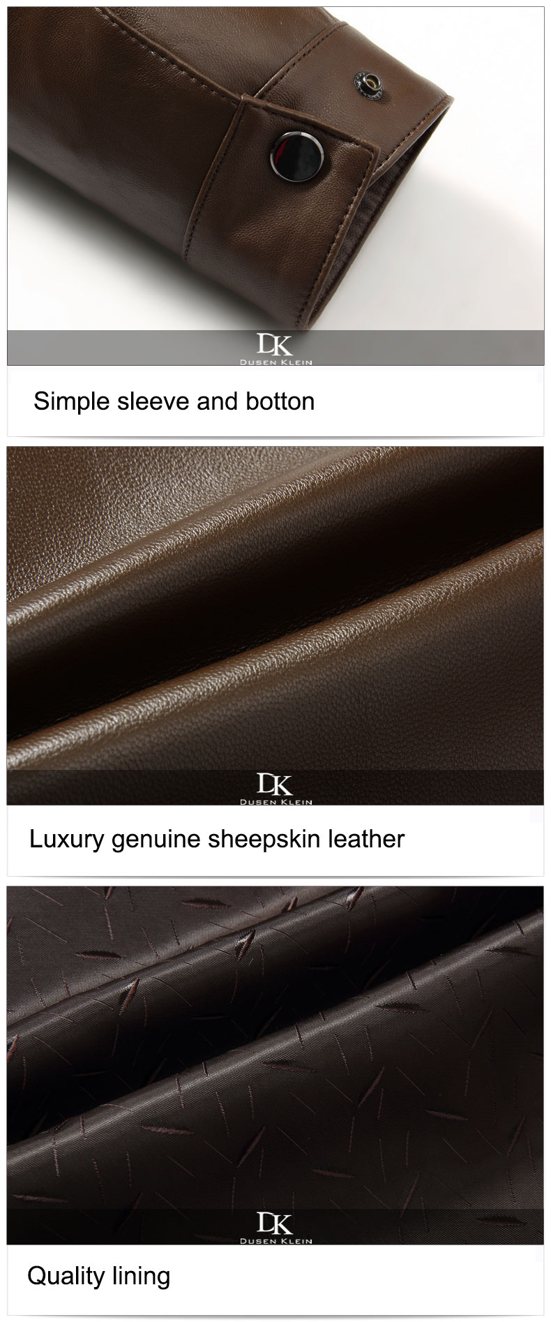 Genuine Business Leather Stop118 9
