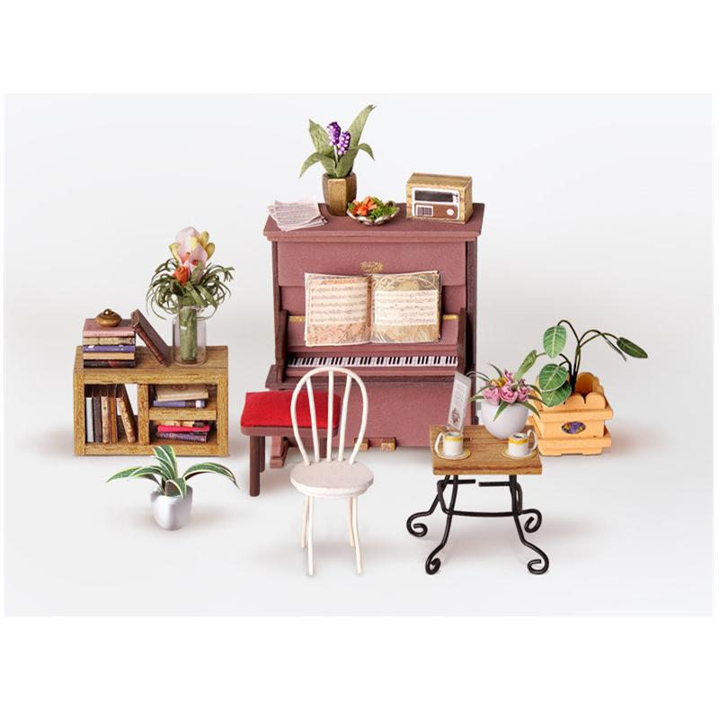 2019 DIY Dollhouse Kit-Simons Coffee NEW ARRIVAL DG109 Cultivating dream toys Childs gift Exquisite ornament birthday present2019 DIY Dollhouse Kit-Simons Coffee NEW ARRIVAL DG109 Cultivating dream toys Childs gift Exquisite ornament birthday present