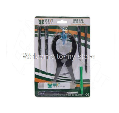Высокое качество Профессиональный 8 в 1 набор Инструментов Для Ремонта Прай Открытие инструменты Отвертка Kit Набор для iPhone 5 6 6 S 6 Плюс