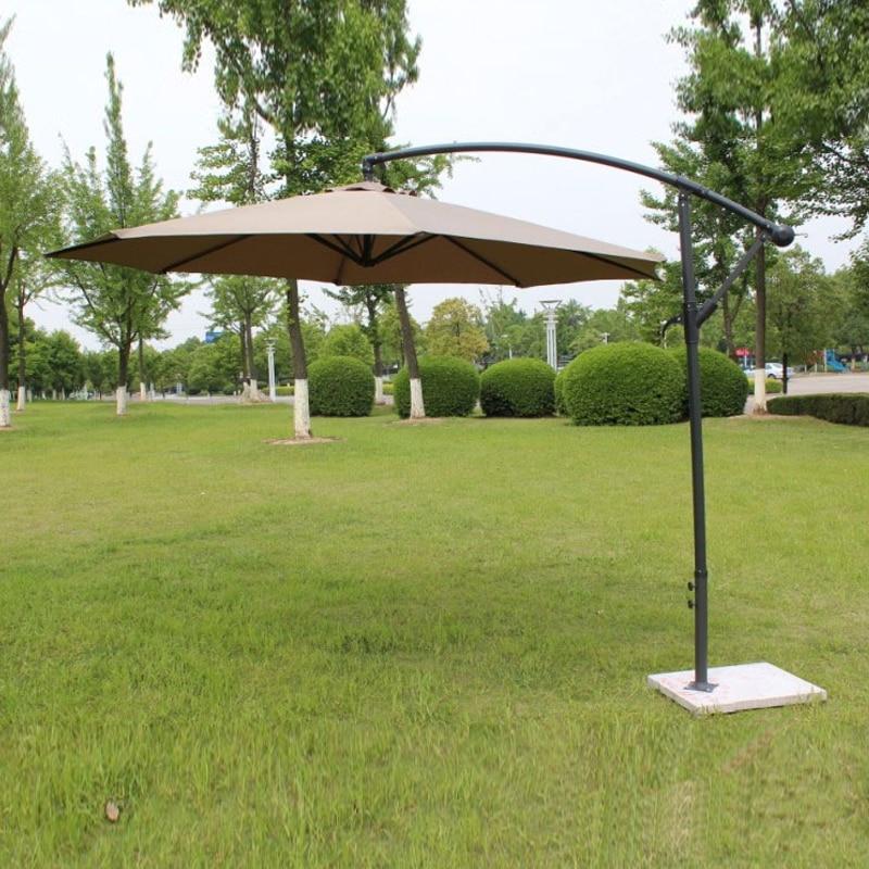 2 7 meter steel iron promotion patio sun umbrella garden parasol sunshade outdoor furniture covers no