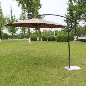 Image 1 - 2.7 metro di ferro in acciaio promozione patio ombrellone da giardino parasole parasole mobili da giardino copre (senza base in pietra)