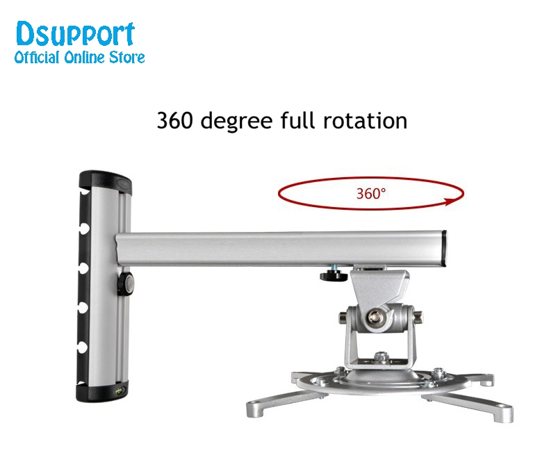 PR03 alumiiniumisulamist 360 kraadi projektori seinakinnitus Full - Kodu audio ja video - Foto 4