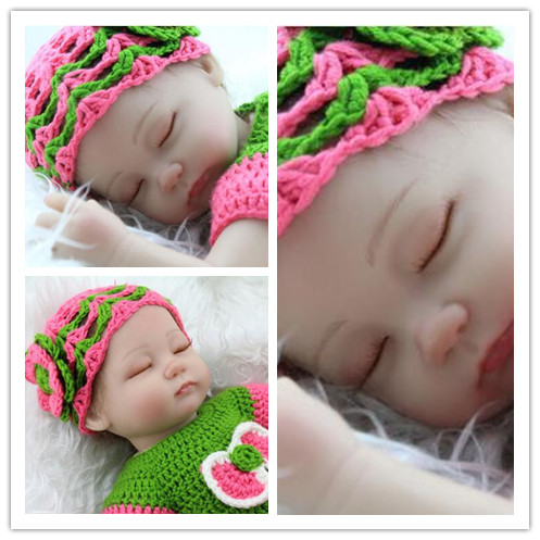 22 inch reborn dolls babies Baby Simulation Doll Soft Children Reborn Baby Doll Handcraft Newborn Baby For Children mini reborn 55cm doll reborn babies full soft silicon lifelike newborn baby dolls baby reborn simulation toys gift for children partner