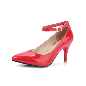 Image 2 - מותג חדש מכירות סקסיות נשים מישמש שחורות עירום משאבות עקבים גבוהים ספייק נעלי כלה גברת HS193 בתוספת גודל קטן גדול 10 31 45 47