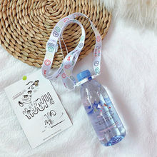 1pc Shoulder Strap Baby Beverage Bottle Strap Water Bottle Buckle Portable Back Water Lanyard Water Bottle Cup Accessories(China)