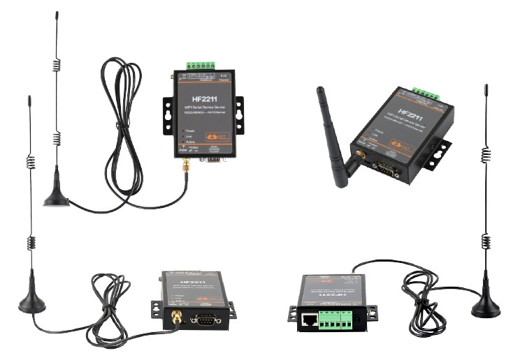 RS485 RS422 para WiFi Dispositivo Conversor Ethernet