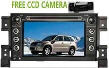 Фабрика автомобиля DVD GPS для Suzuki Grand Vitara 2005-2011 + Бесплатный ПЗС-камера + Bluetooth + USB + скольжения меню + бесплатная карта + phonelink