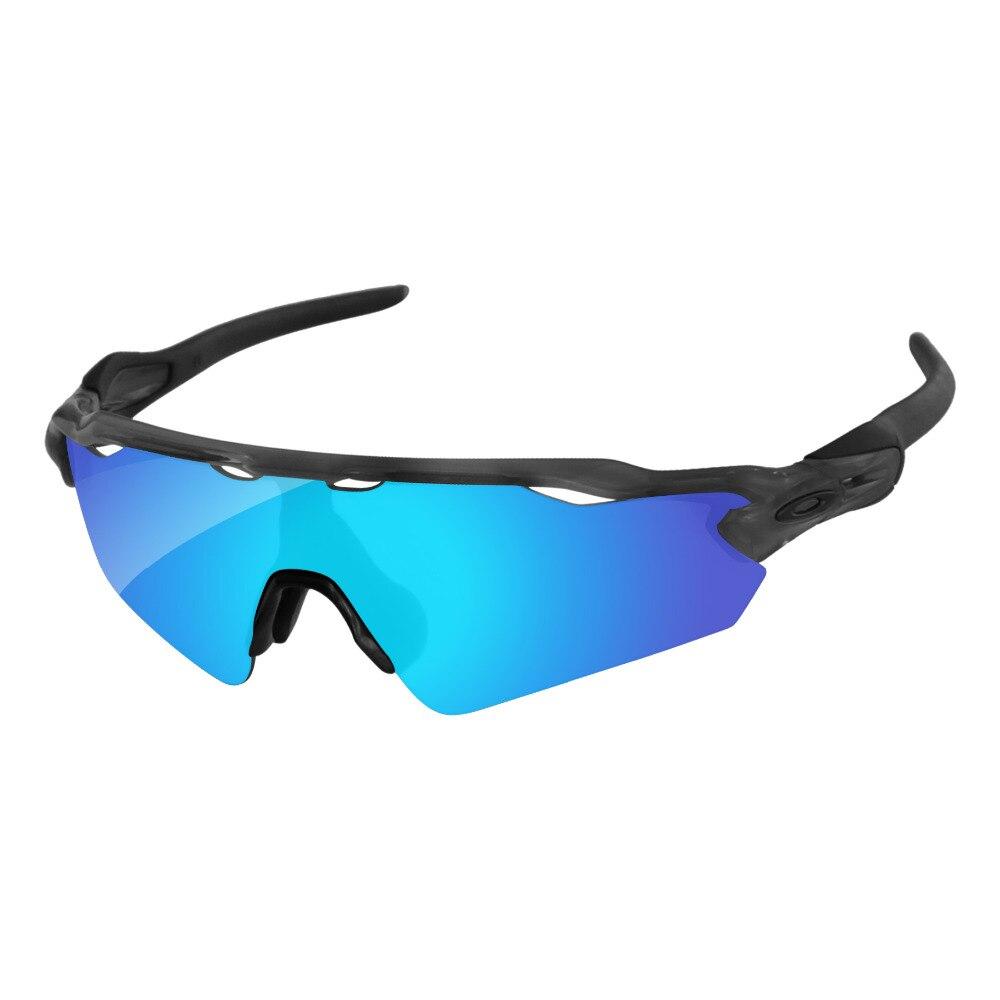 9735f28a56 Azul hielo espejo polarizado lentes de recambio para el Radar EV camino  gafas de sol marco 100% UVA y UVB protección en Gafas Accesorios de  Accesorios de ...