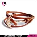 Men Bracelets Miansai bracelets Rose anchor hand-rope handmade marine leather Bracelets