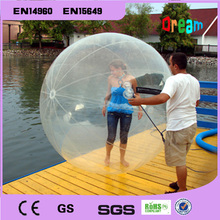 Inflatable water walking toys ball/water zorb ball/walking on water ball