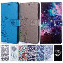 Retro Flip Case For Samsung Galaxy G388F G355 G357 G360 G850 G530 j5 j7 Note 5 4 S6 Edge S5 Mini Stand Cute Floral Cover DP04Z