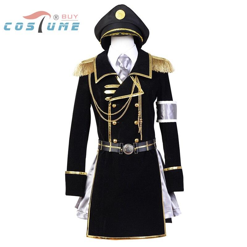 K Costume de Cosplay militaire Neko retour des rois ensemble complet avec chapeau Costumes de Cosplay Halloween pour les femmes
