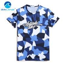 b5b1931afbe45 Gailang Brand New Arrival 2018 men Designer T Shirt Casual Quick Dry Slim  Fit Shirts Tops