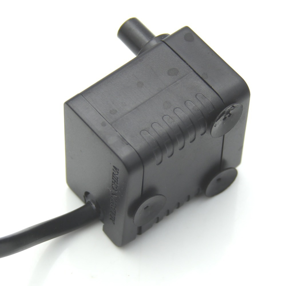 E74 Submersible Fountain Air Fish Tank Aquarium Water Pump EU Plug 220V 5W 50Hz