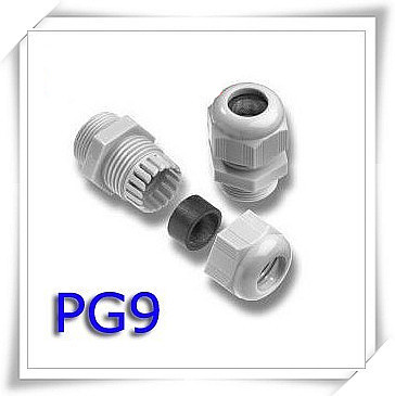100piece a lot plastic cable gland PG9 and 100 pieces PG 11 цена и фото
