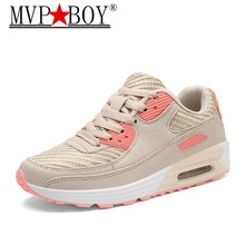 MVP BOY Brand Sneaker Fashion Women Shoes 2018 Breathable Casual Spring Autumn Female Platform Chaussure Femme